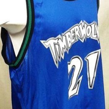 b725c195cc6 VINTAGE CHAMPION KEVIN GARNETT MINNESOTA TIMBERWOLVES (XL) NBA BASKETBALL  JERSEY. Related Items