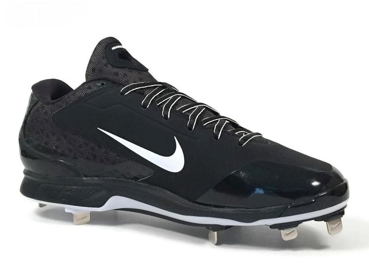 super popular 0ee74 a855c Nike New Air Huarache Pro Low Metal Men s Cleats sz 13.5 Black White 599233- 001   Baseball Footwear   SidelineSwap