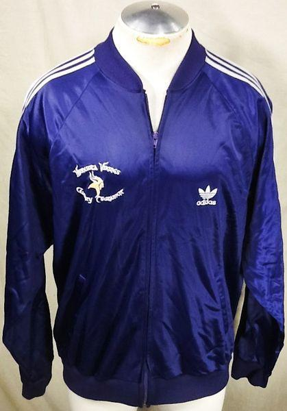 more photos 40817 60e0b VINTAGE ADIDAS MINNESOTA VIKINGS (XL)