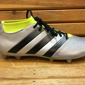 1bd0a30ad Adidas Ace 16.3 Primemesh TF-White Gold Black AQ3432