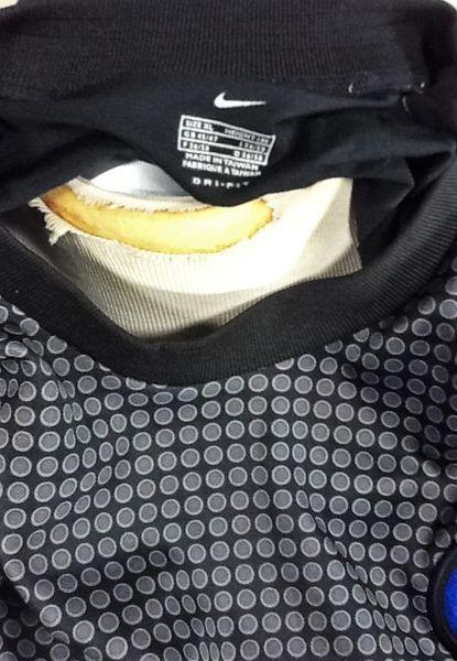 the latest 54a22 e718c Nike INTER MILAN FUTBOL (XL) DRI-FIT LONG SLEEVE JERSEY PIRELLI | Soccer  Apparel & Jerseys | SidelineSwap