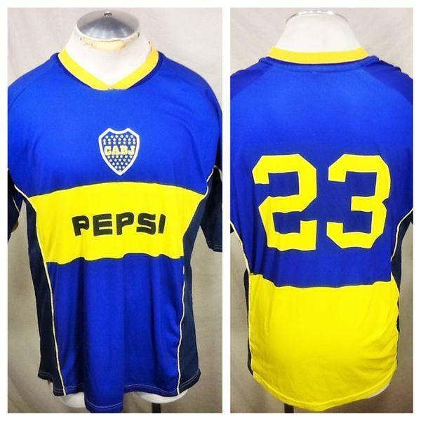 low priced 0a106 039d7 ATHELTIC BOCA JUNIORS #23 (XL) ARGENTINA SPORTS CLUB DR-FIT JERSEY