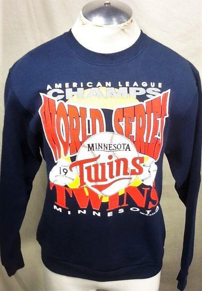 official photos ef635 a9d2e VINTAGE 1991 MINNESOTA TWINS (LARGE)