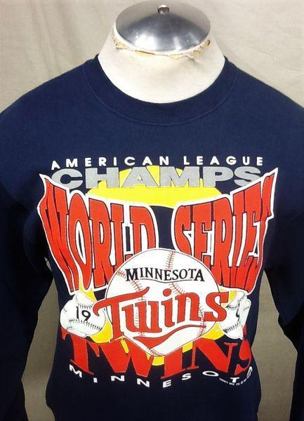new styles 6aa07 4a0e5 VINTAGE 1991 MINNESOTA TWINS (LARGE)