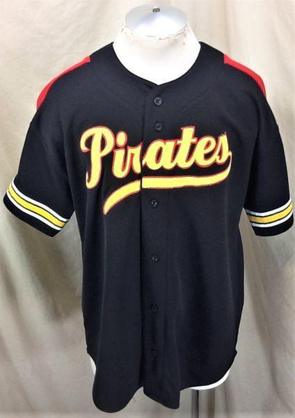 check out f2673 8f87e VINTAGE 90'S STARTER PITTSBURGH PIRATES BASEBALL (XL) RETRO BUTTON UP MLB  JERSEY