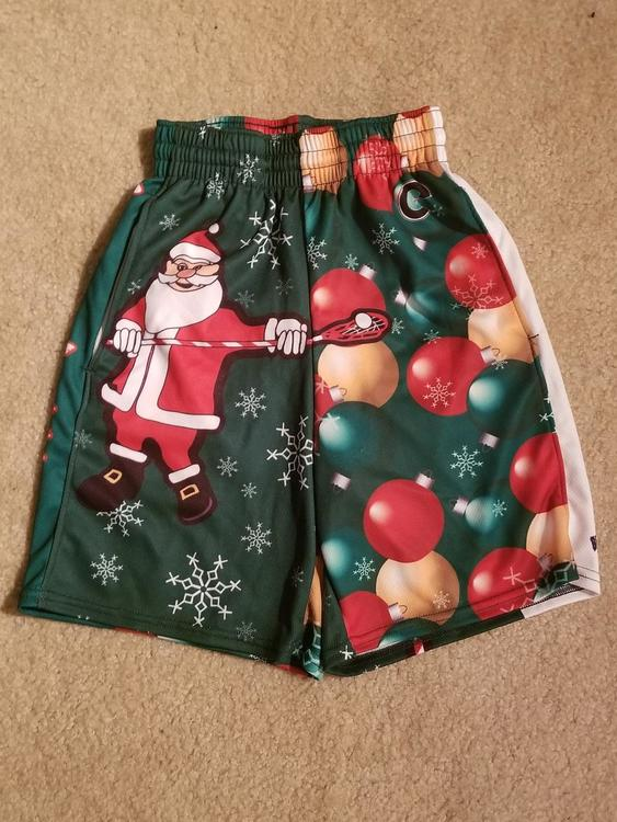 95a32df9a5115 New Christmas Shorts (Youth Medium) | EXPIRED | Lacrosse Apparel ...