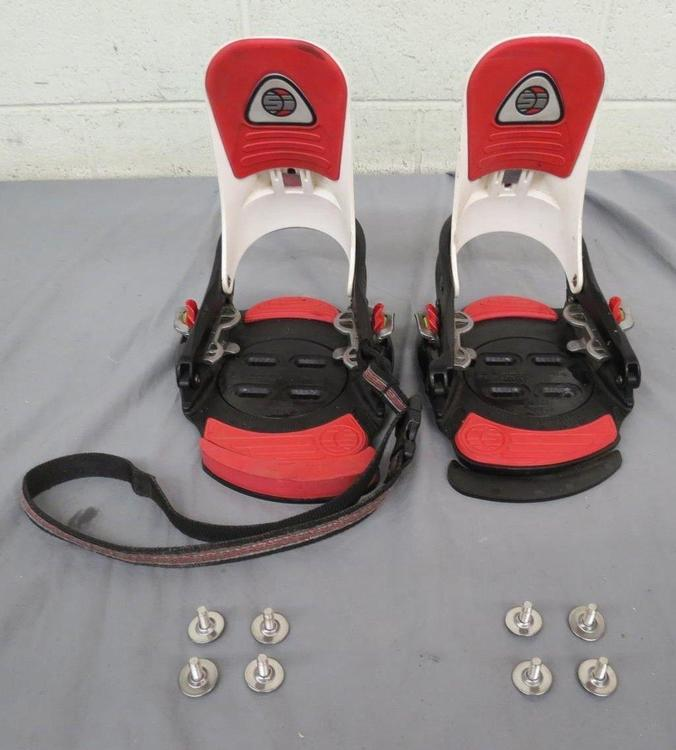 Burton SI Step-In Snowboard Size S/M W/Base Plates