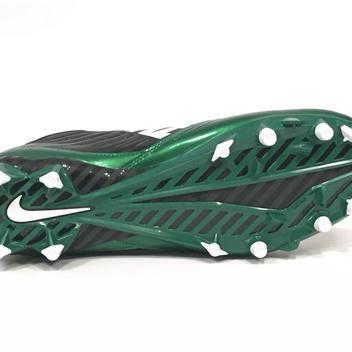 f198613cdbf7 New Nike Vapor Speed Low TD Men s Football Cleats sz 13 Black Green White  643152-301