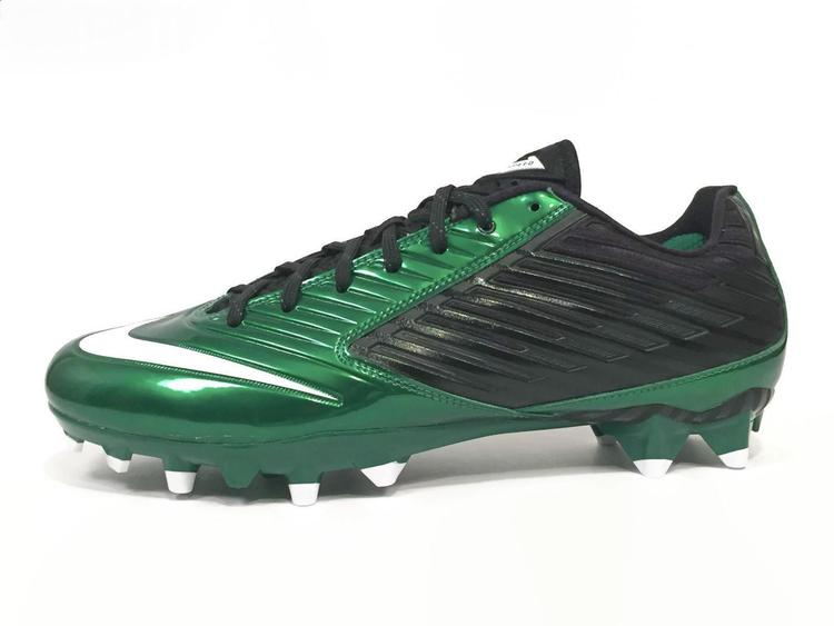 sneakers for cheap 852a1 b678a New Nike Vapor Speed Low TD Men's Football Cleats sz 13 Black Green White  643152-301