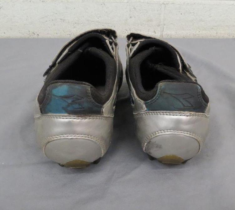 7da74a232 Diadora Silver Mountain Bike Cycling Shoes w Cleats US Women s 8 EU 39 GREAT