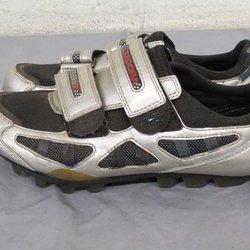 2be1e4df2 Diadora Silver Mountain Bike Cycling Shoes w Cleats US Women s 8 EU 39 GREAT.  Related Items