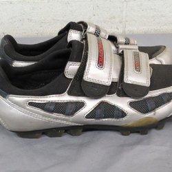 590c293eb Diadora Silver Mountain Bike Cycling Shoes w Cleats US Women s 8 EU 39 GREAT