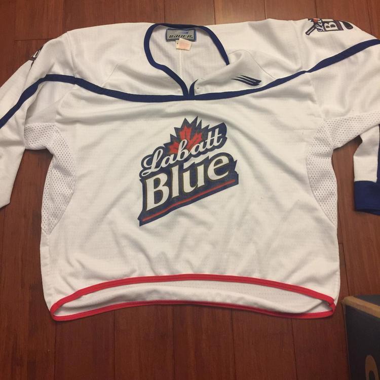 Bauer Labatt Blue hockey Jersey - SOLD 3af08bd1a51