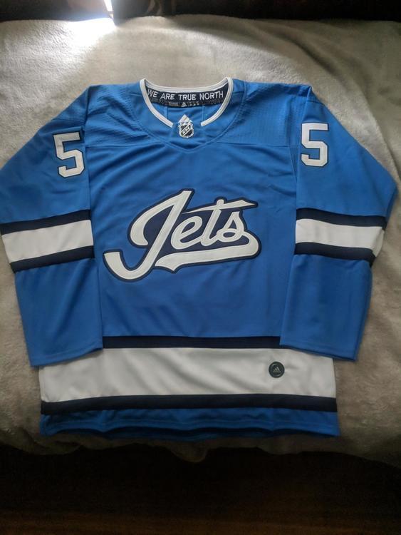 reputable site f2aa3 ae656 Mark Scheifele Winnipeg Jets Alternate Jersey - Size Extra Large