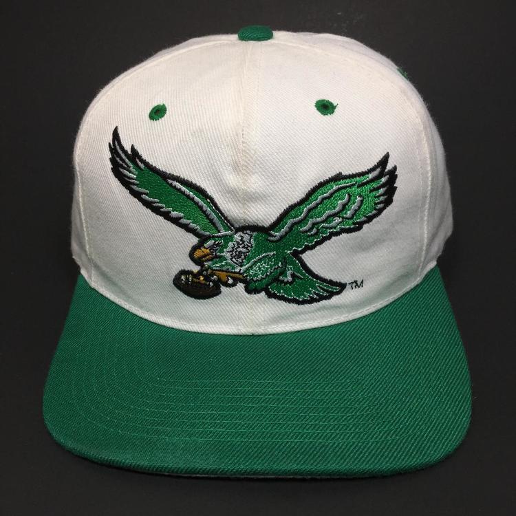 1632b618a3159 Vintage Philadelphia Eagles Snapback Hat