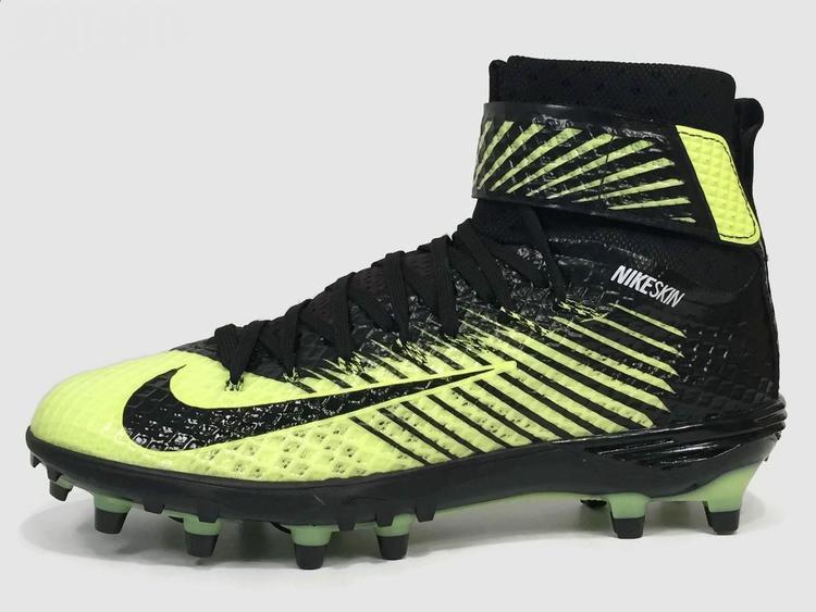 5fcd53590 Nike New Force Lunarbeast Elite TD Men s Cleats sz 11 Black Volt White  779422-007