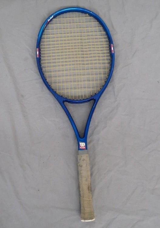 Wilson Pro Staff >> Vintage Wilson Pro Staff 5 5si 95 Sq In Tennis Racquet W 4 1 4 Grip Great Look