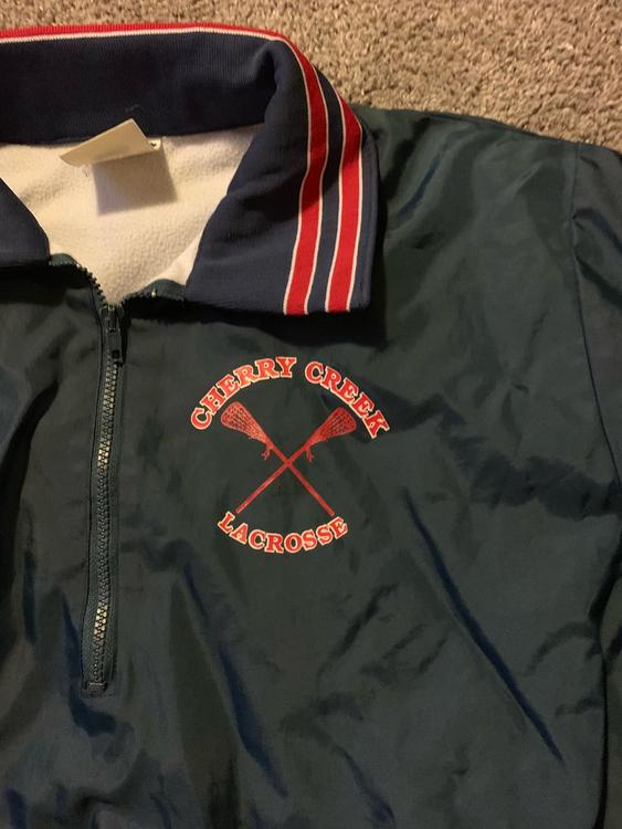 Cherry Creek High School Campus Map.Vintage Cherry Creek Hs Co Half Zip Jacket Large 15 Off