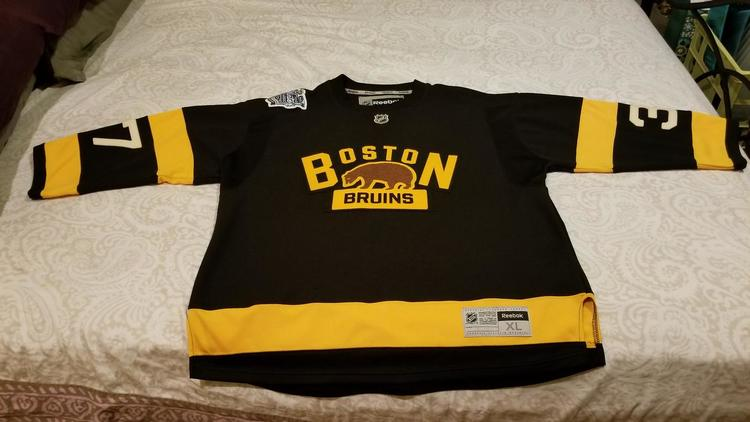 Authentic Boston Bruins Winter Classic Reebok Jersey - XL - Patrice  Bergeron - SOLD 5d553e23d
