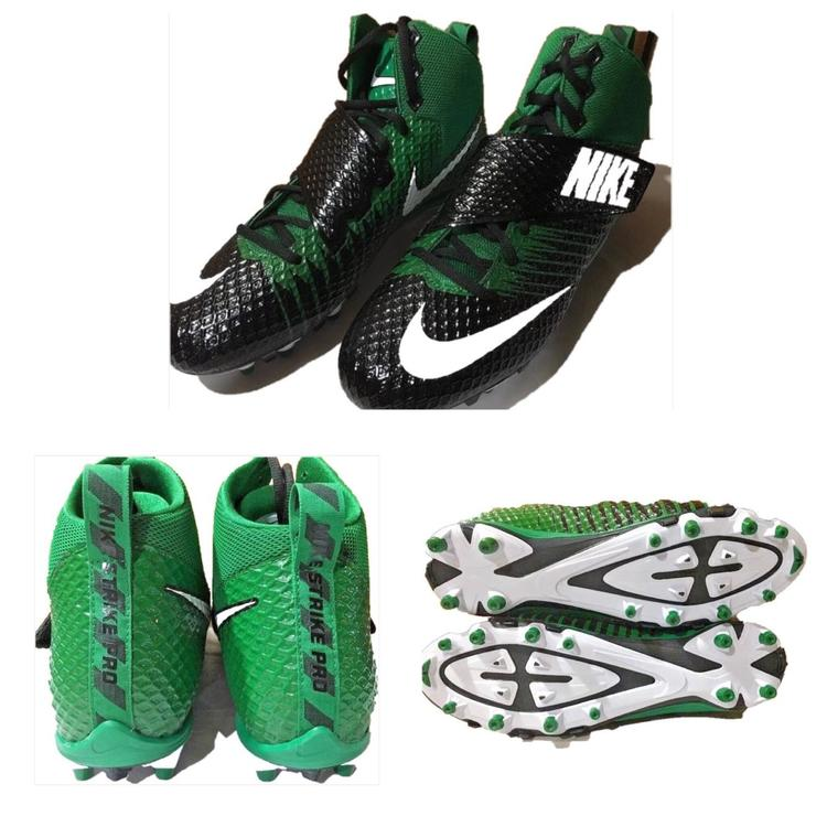 more photos 69266 a40cb Nike Cleats Green Lunarbeast Strike Pro TD Black Size 11.5 NWOB Shoes    Football Footwear   SidelineSwap