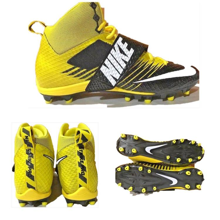 f1ee97a08 Nike Lunarbeast Strike Pro TD Football Cleats Yellow Black Size 13 NWOB.  Related Items