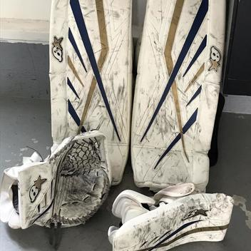 Brian's Goalie Pads   Buy and Sell on SidelineSwap