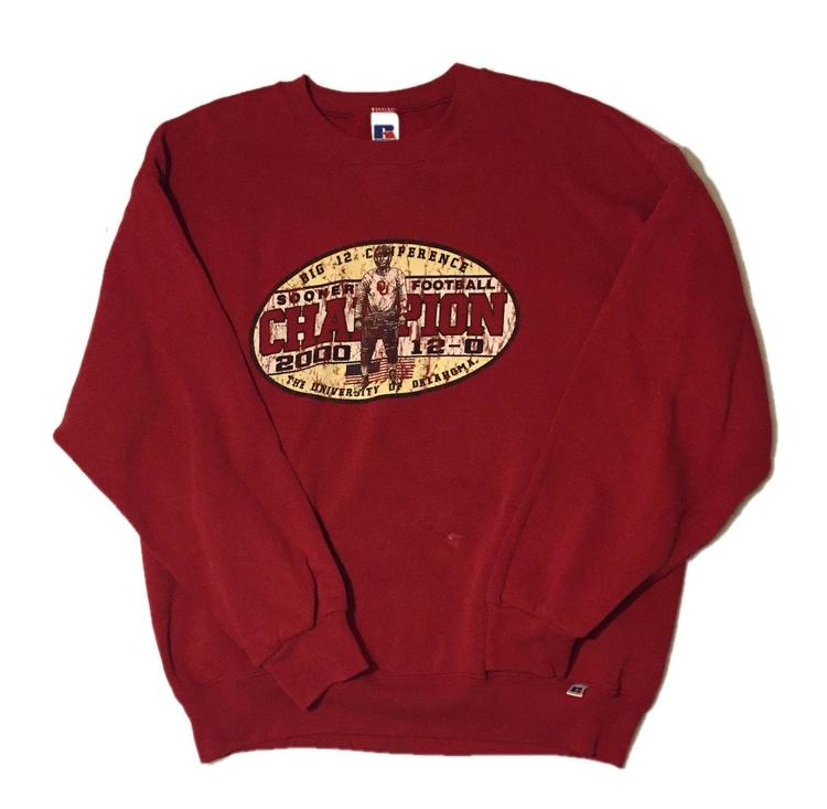 Vintage Oklahoma Sooners Sweatshirt | SOLD | Football ...