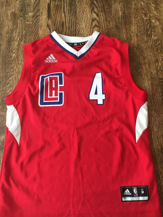 new styles e4e7c d1aef LA Clippers #4 JJ Redick Jersey