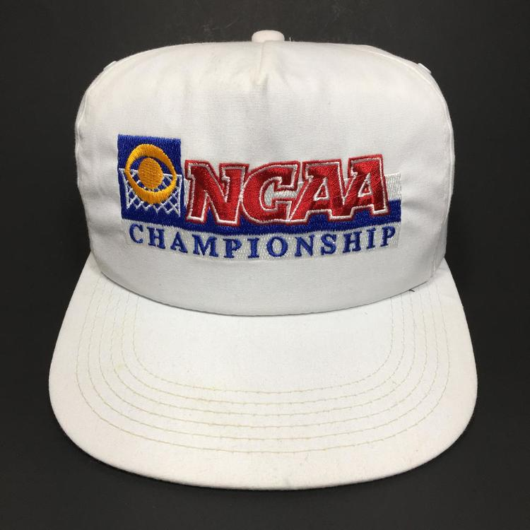 30bc2b285 Vintage NCAA Championship College Basketball Snapback Hat