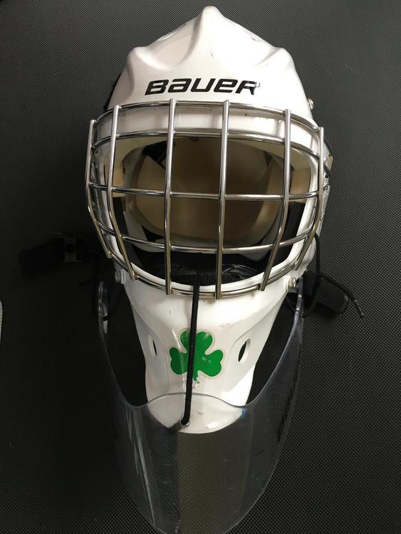 Bauer Nme 3 Mask Junior Including Dangler Sold Hockey Goalie