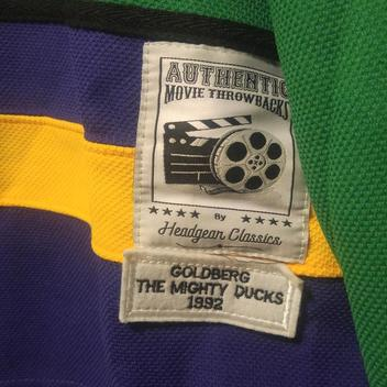 Mighty Ducks Vintage Goldberg movie throwback jersey Barely Worn. Comments  (3) Favorites (45) 3e2b41b1c