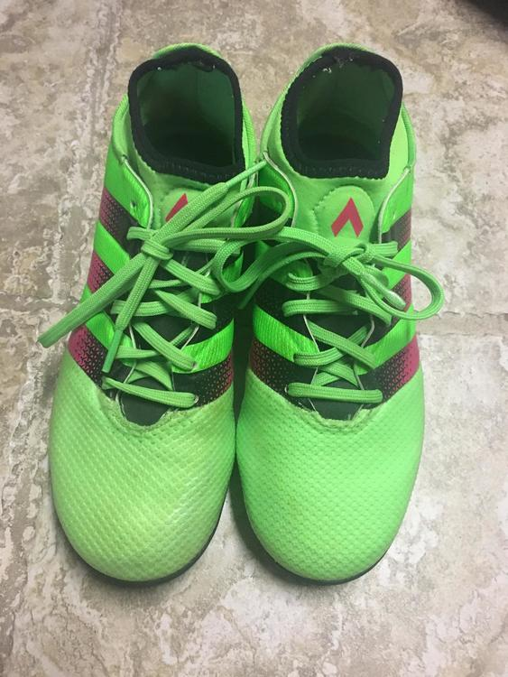 Adidas Ace 16.3 Green Turf Cleats- Used 2be2010b249e
