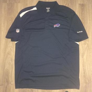d5dcbd6326 Reebok Buffalo Bills Dry Fit Polo Shirt - Adult Large - NEW LISTING