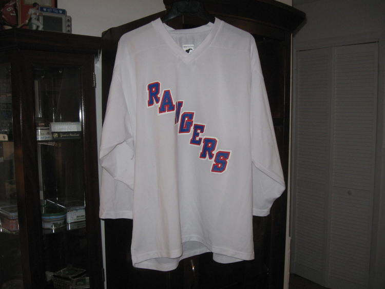 NY RANGERS PRACTICE JERSEY(L) - SOLD f7338a749