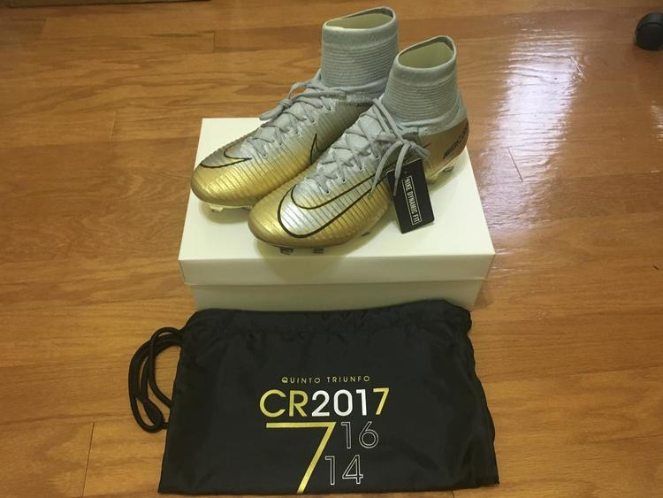 940008633055 Nike New Mercurial Superfly V CR7 Quinto Triunfo #870/1000 | Soccer  Footwear | SidelineSwap