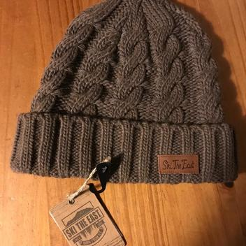 13cf0e345 The North Face Denali Fleece Beanie Winter Hat Unisex One Size brown ...
