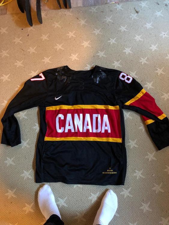 2e6ab2631dd Nike Rare 2014 Sochi Team Canada Sidney Crosby Jersey