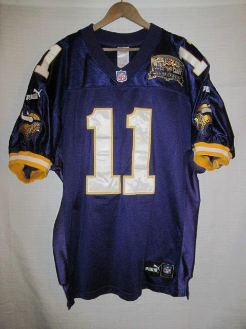 0bdf5b24e Authentic Minnesota Vikings Daunte Culpepper jersey 48 NFL Puma ...