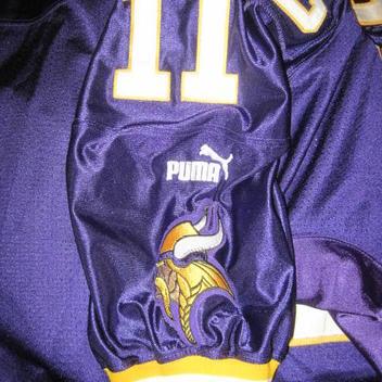 60ce38807 Authentic Minnesota Vikings Daunte Culpepper football jersey 48 NFL Puma.  Comments (0) Favorites (0)