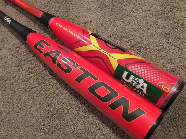 2019 Easton Ghost X Evolution -10 Composite USA Baseball Bat ~ 29/19