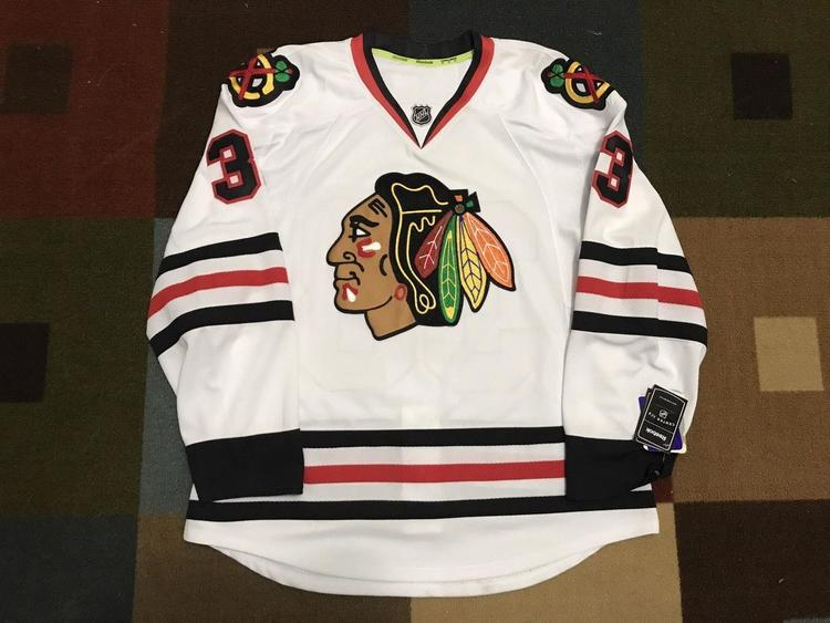 Reebok Scott Darling Chicago Blackhawks Authentic Jersey  e56a28fb7