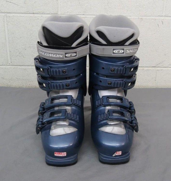 Salomon Performa 5.0 Thermic Adjustable Flex Ski MDP 23.5 US Women's 6   Skiing Boots   SidelineSwap