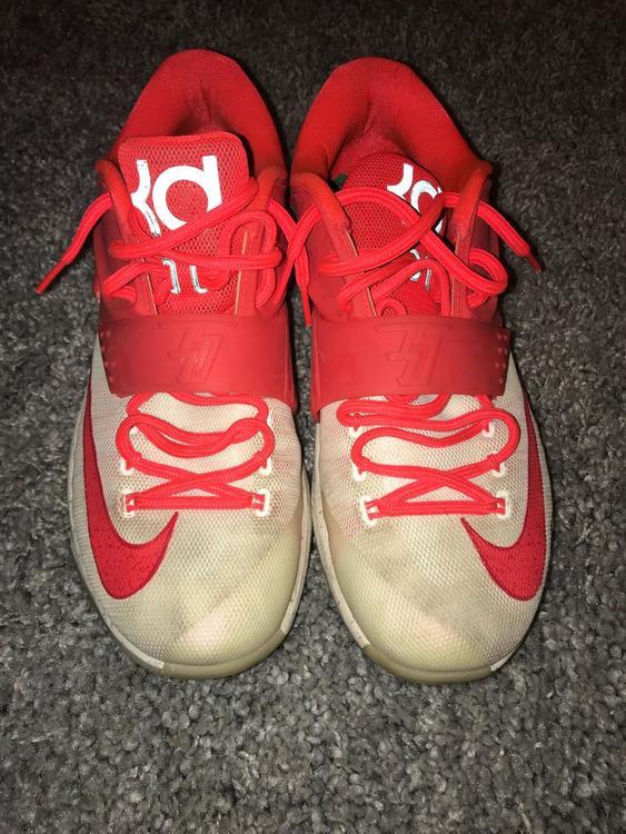 release date 50193 d21fd ... clearance nike kd 7 eggnog basketball footwear sidelineswap 42a6f a4109