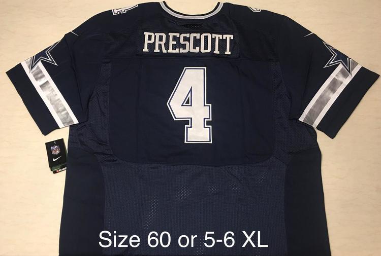 quality design 9b286 47fdb NWT Plus size 60 NFL Jersey Stitched