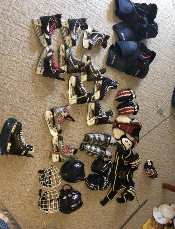 Tons Of Stuff That I Don T Use Very Cheap Hockey Training