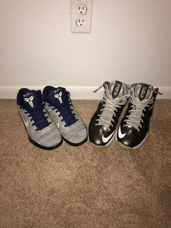 new product fc811 f887b Nike Lebron X   Kobe IX Elite Low BUNDLE PACKAGE   SOLD   Basketball  Footwear   SidelineSwap