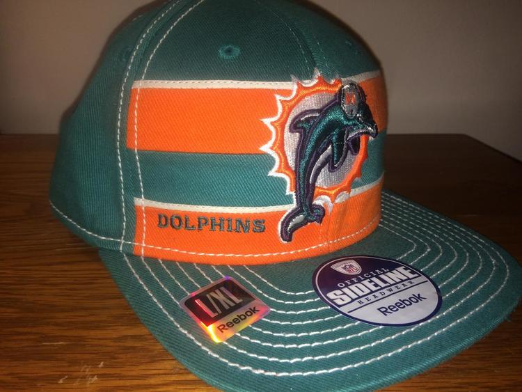 228ae0dc546d6 ... norway new reebok miami dolphins hat new listing 59123 99594