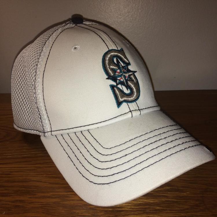 (Small-Medium Flexfit) New Seattle Mariners New Era Hat  4839de262072