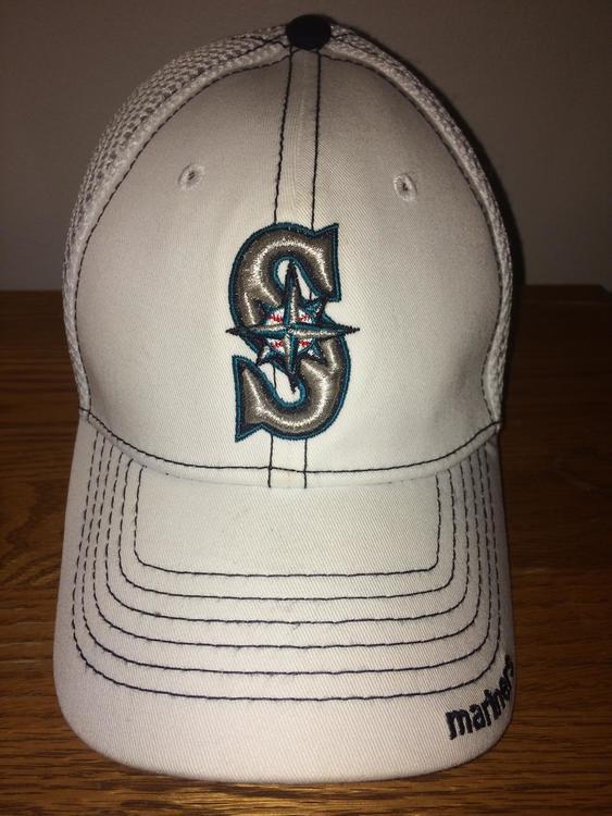 New Seattle Mariners New Era Hat (Small-Medium Flexfit)  dedb4cbdd259