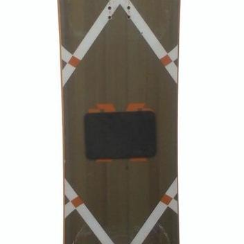 c4537005a7a2 Rossignol EXP Amptek 154cm Auto Turn Rocker Snowboard  Brown White Orange-USED